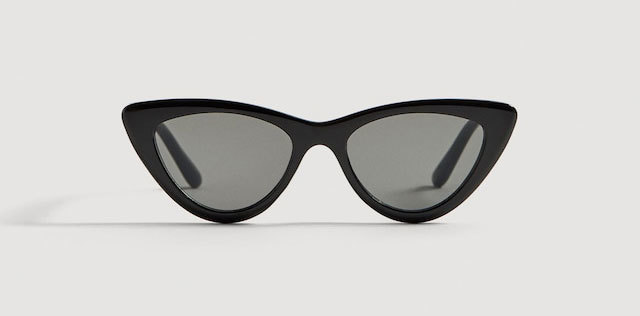 Gafas de sol estilo cat eye, de Mango (15,99 euros)