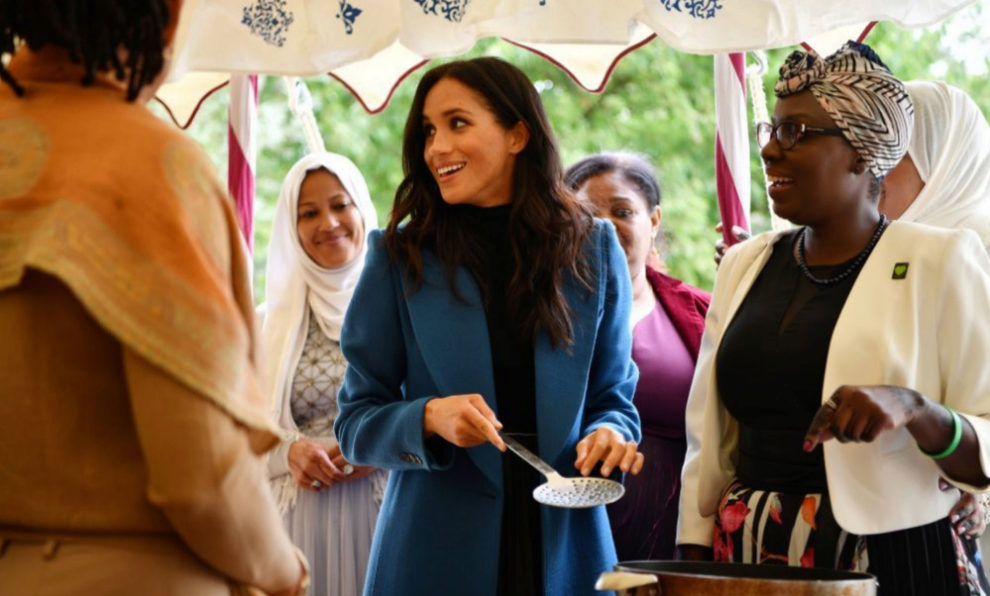 "Meghan Markle ha presentado el libro ""Together: Our Community..."