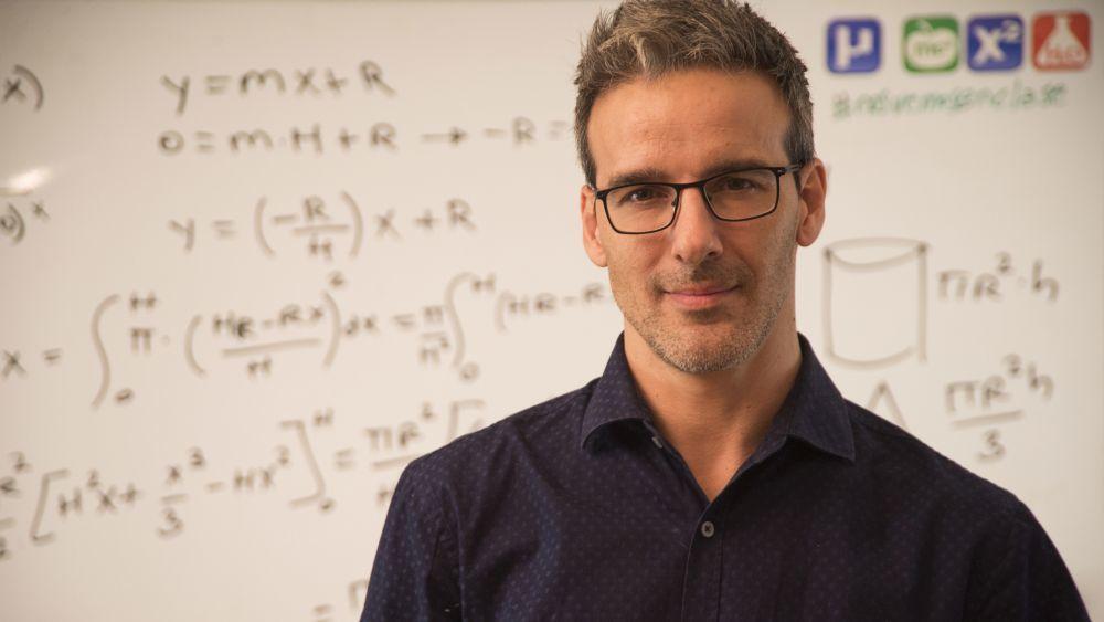 David Calle ha ganado el considerado Nobel de los profesores.