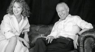 Gloria Lomana y Josep Piqué en su primera entrevista juntos.