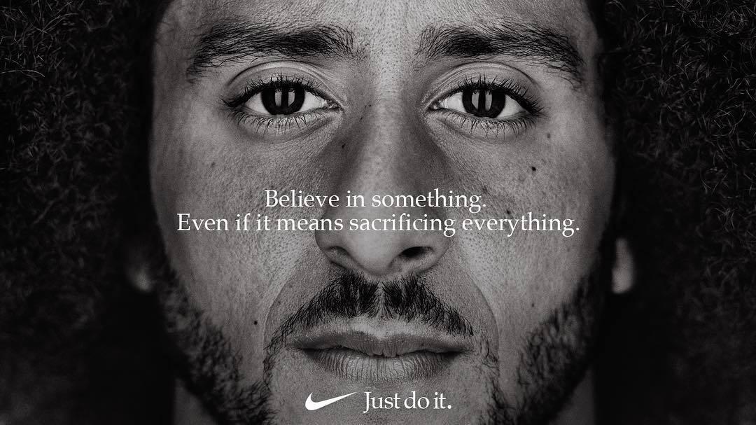 Campaña Nike y Colin Kaepernick