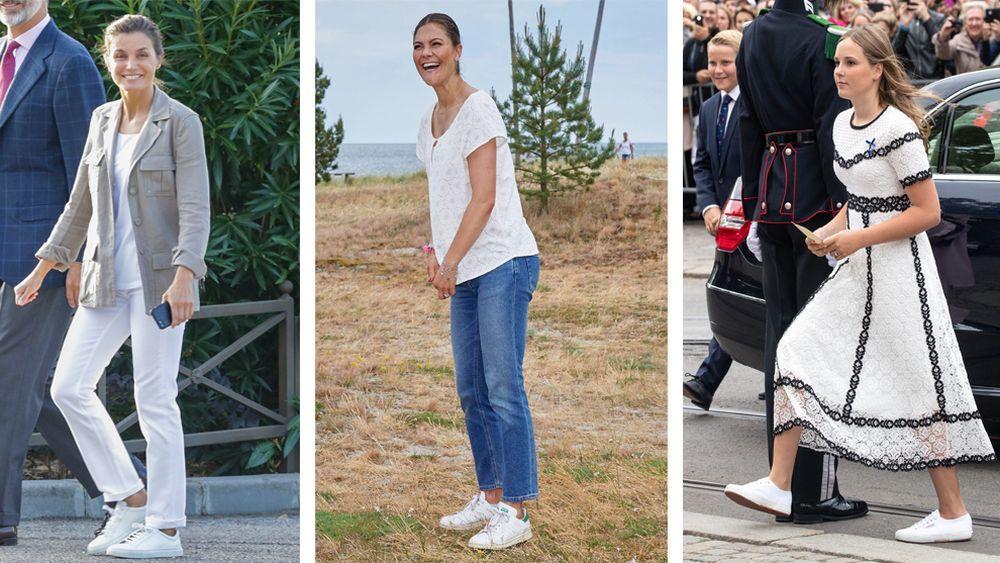 La reina Letizia, Victoria de Suecia e Ingrid de Noruega.