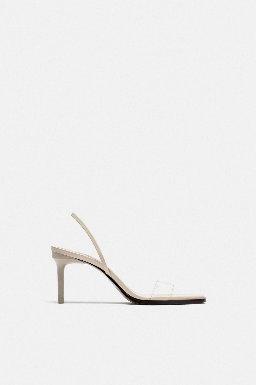 Colección Nueva Zara Con Que Sandalias Tira De ViniloLa thQdCxsrB