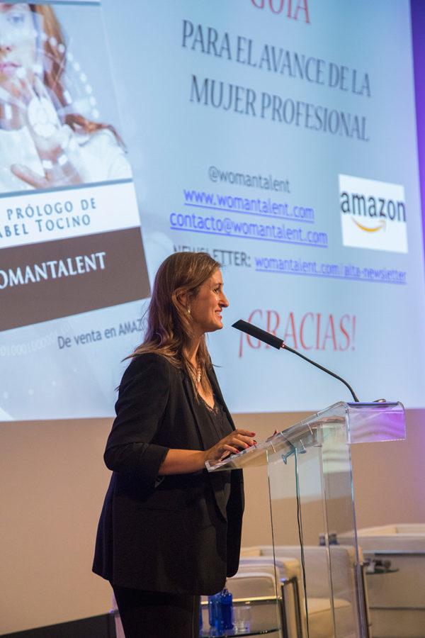 Beatriz Recio, directora y fundadora de WOMANTALENT