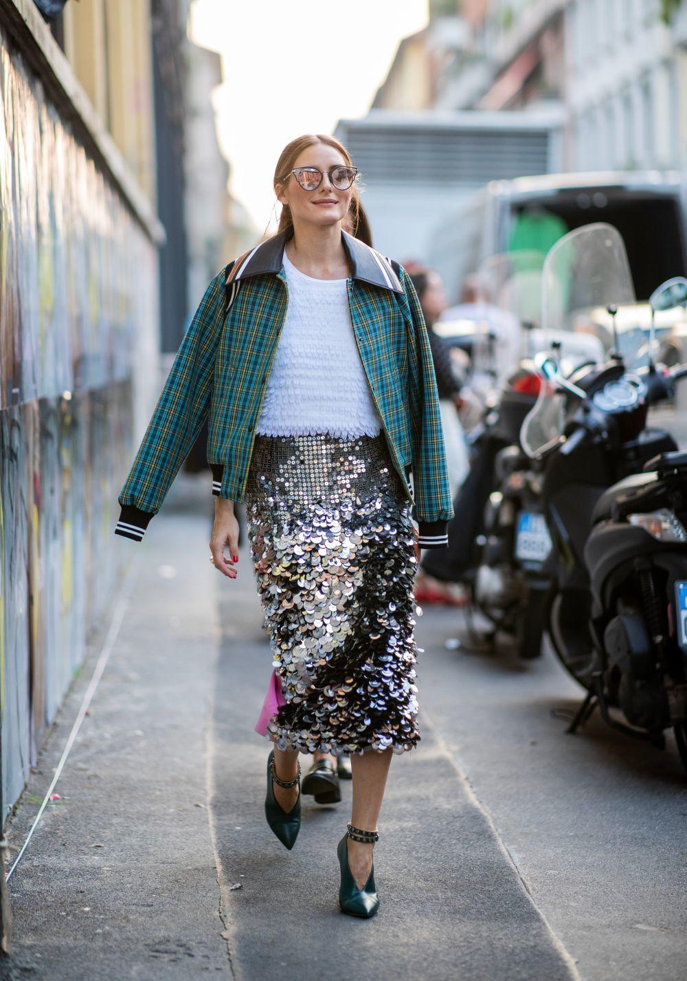 bf9b46476 Estas son las 5 faldas que Olivia Palermo dice que hay que tener ...
