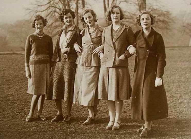 Las hermanas Mitford.