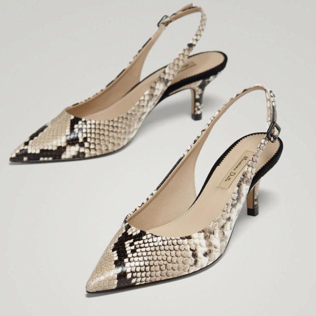 la mejor actitud 66706 398fb Tacón medio estampado serpiente   Los 15 mejores zapatos de...