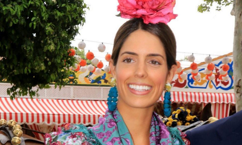 Sofía Palazuelo en la Feria de Abril.
