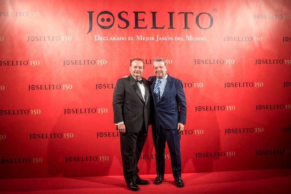 José Gómez y el chef Alberto Chicote.