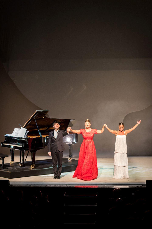 Haochen Zhang, Ainhoa Arteta y Sara Baras actuaron en el Teatro Real...
