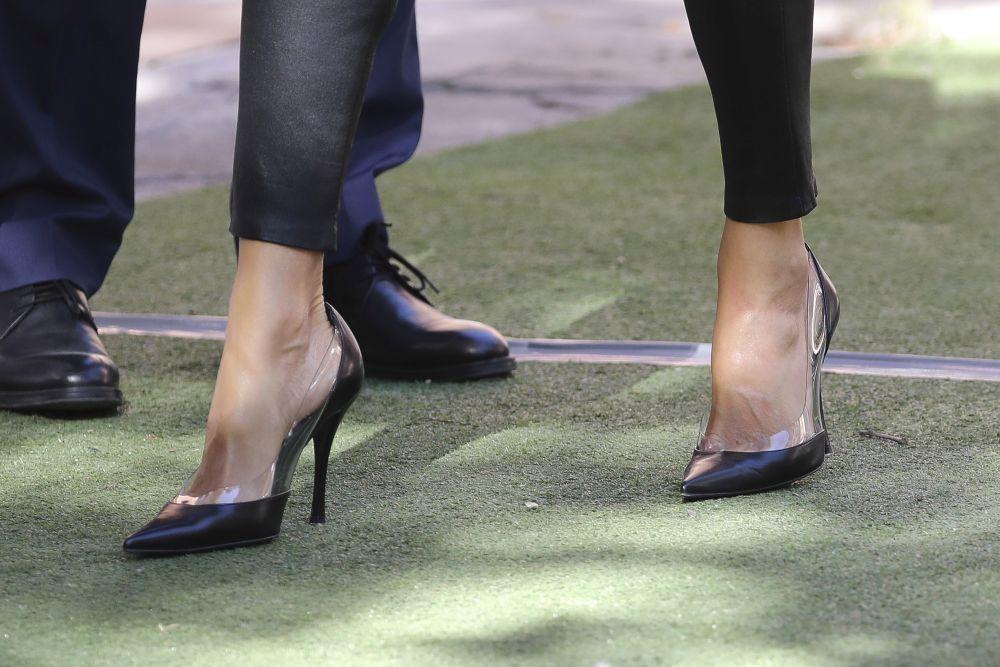 Los zapatos de Letizia.