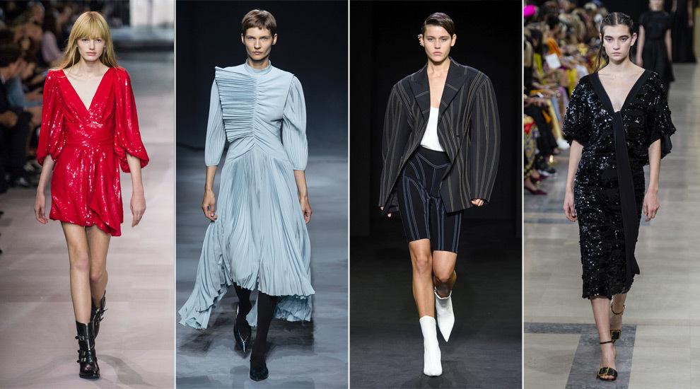 Celine, Givenchy, Mugler y Rochas.