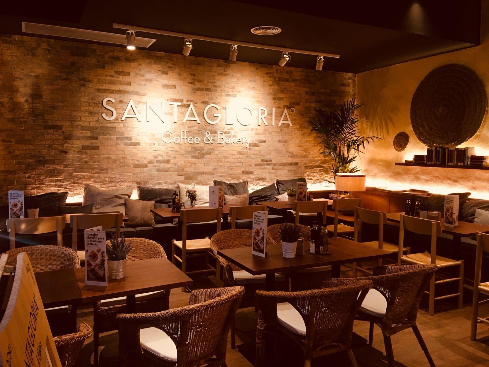 Detalle del nuevo espacio Santagloria.