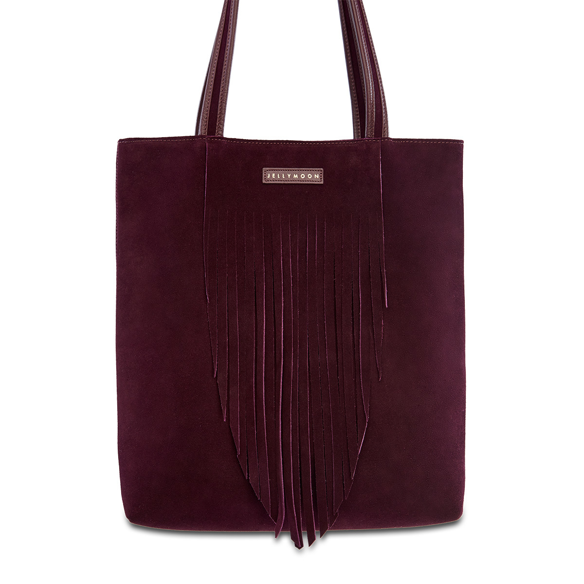 Bolso shopper con flecos, de Jellymoon (225 euros).