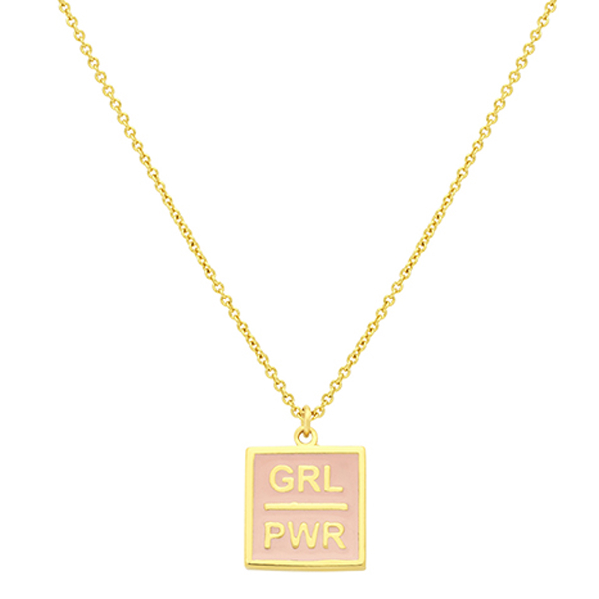 "Collar ""Girl Power"", de María Pascual (40 euros)."