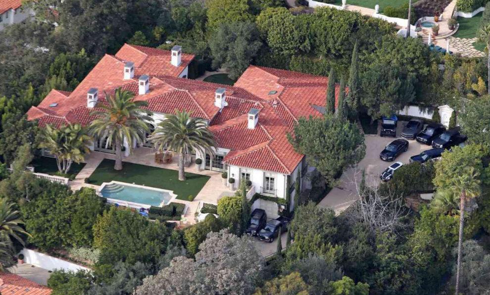 Vivienda de los Beckham en Beverly Hills.