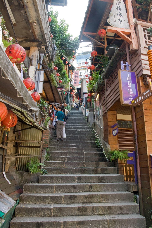 Fotografía de Jiufen, en Taiwán