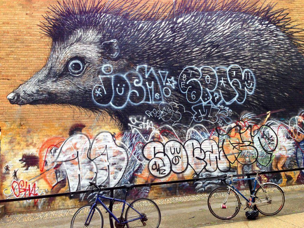 Graffiti en Shoreditch