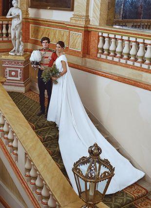 Ya tenemos las fotos oficiales de la boda de Sofía Palazuelo y con...