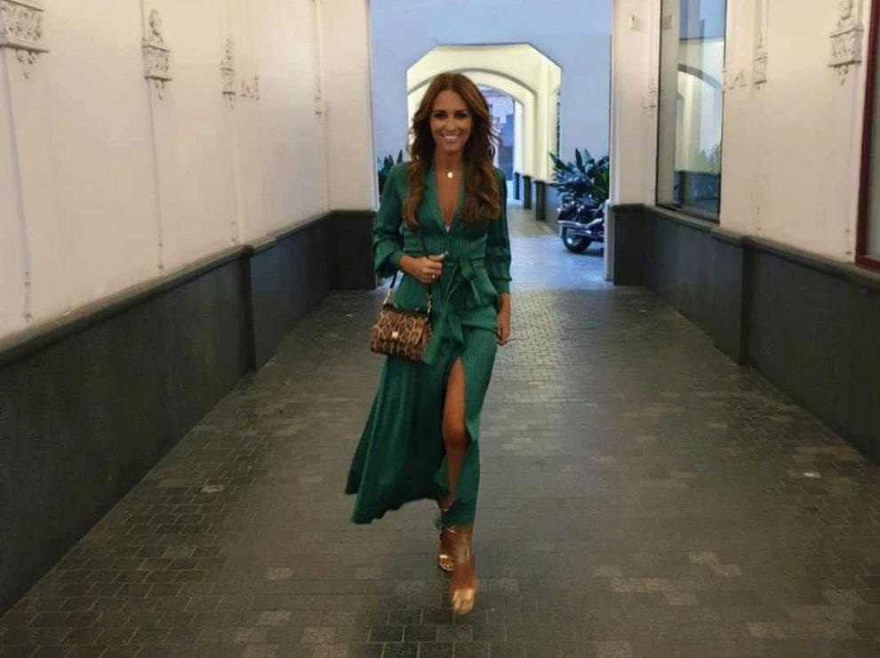 68f275330 Paula Echevarría y el vestido camisero (de fiesta) del otoño