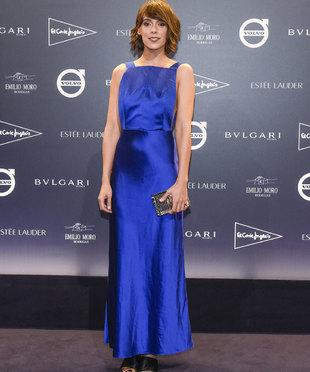 La actriz Belén Cuesta con su vestido de Hugo Boss en la fiesta TELVA...