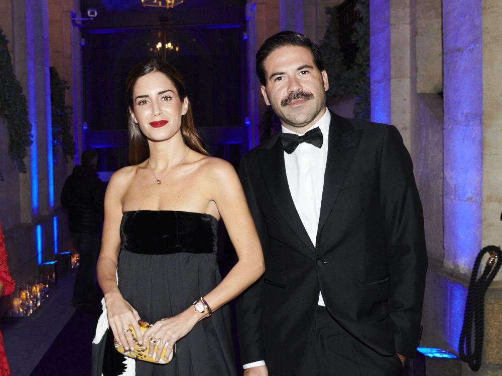Gala González junto a Miguel Carrizo.