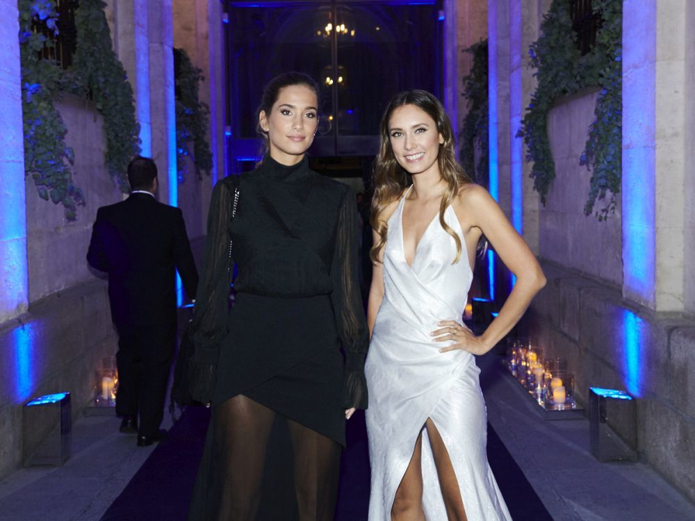 María Pombo y Grace Villarreal.