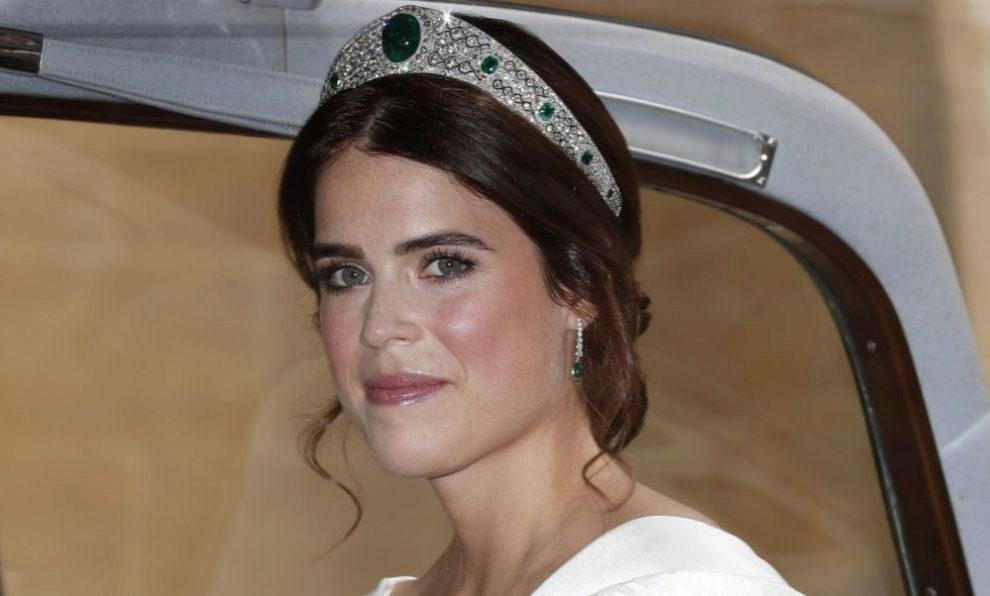 La princesa Eugenia de York el día de su boda.