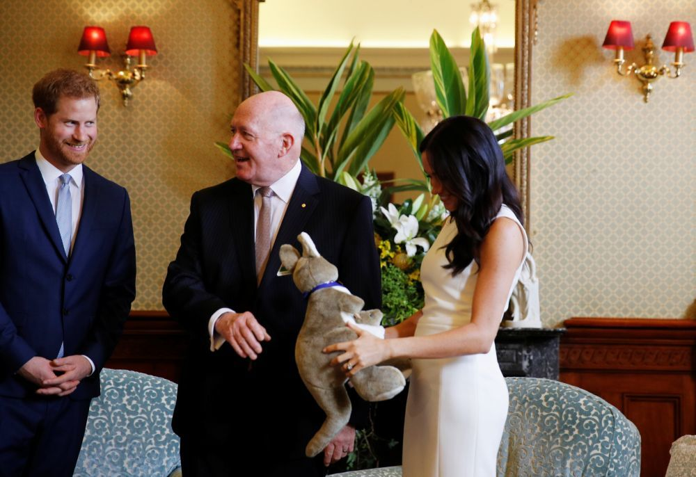 El futuro royal ya tiene sus primeros regalos de parte del gobernador...