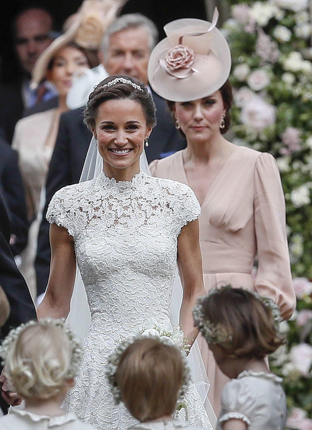 Pippa Middleton el día de su boda.