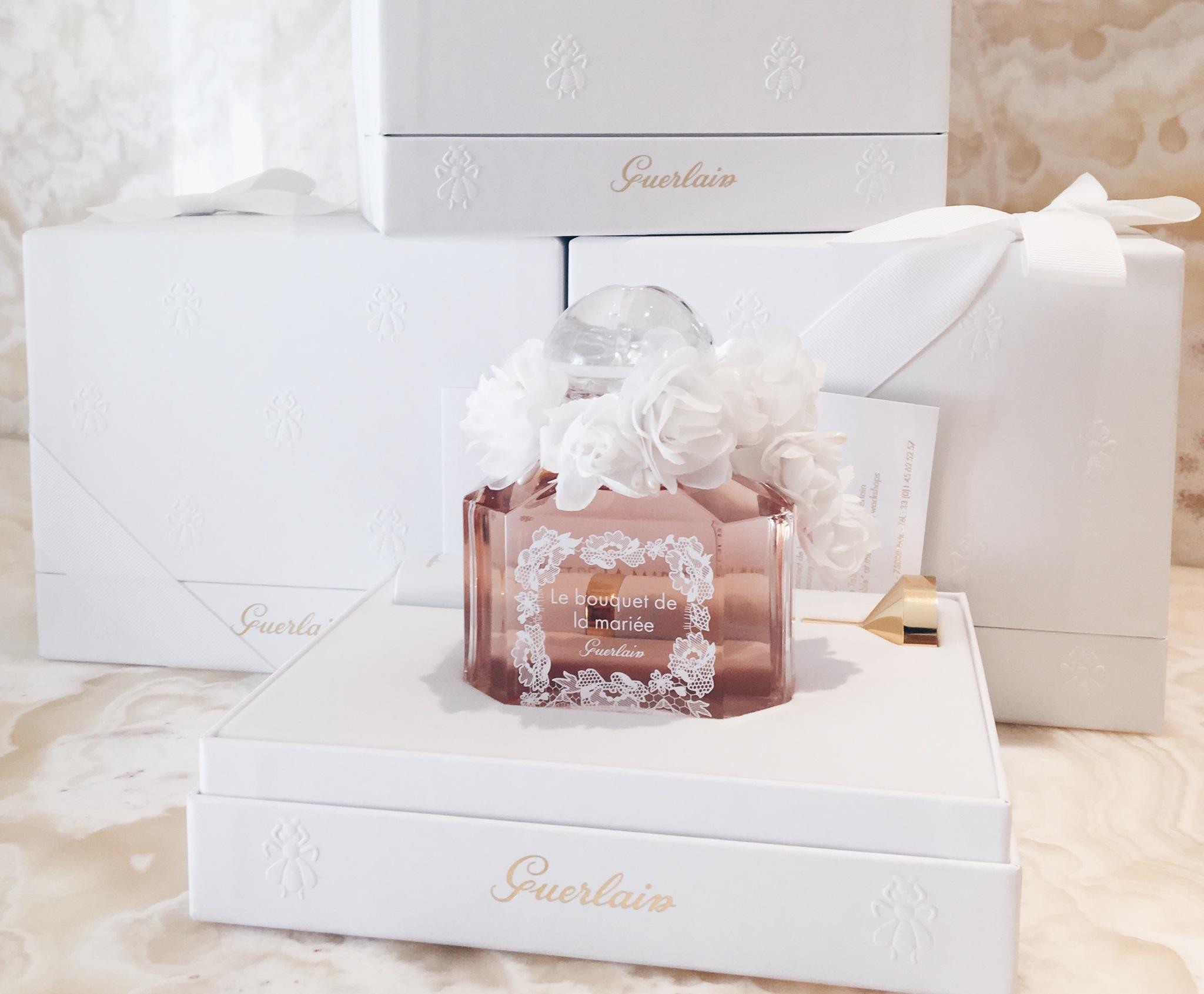 Le Bouquet de la Mariée, de Guerlain. Un perfume de novias para...