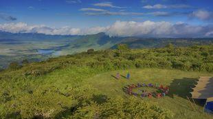 Pakulala Safari Camp de Ratpanat, en el cráter del Ngorongoro