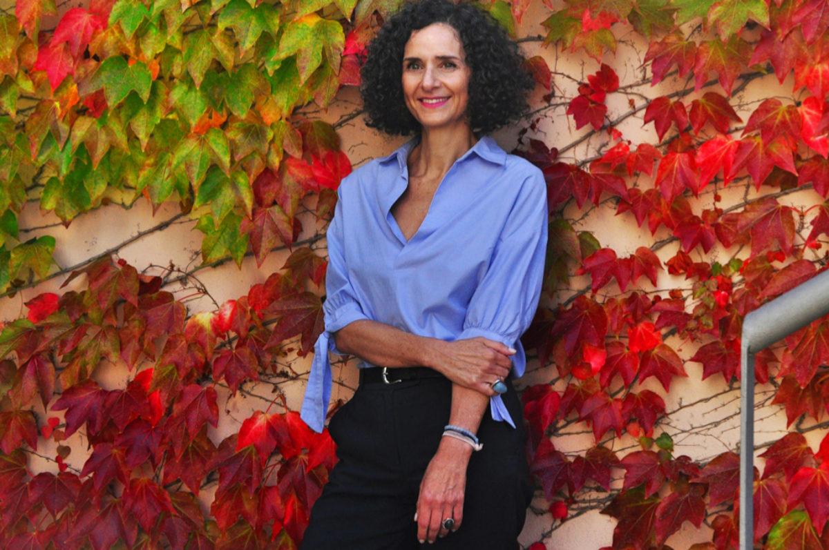 Valérie Dana, editora de la revista La vida en Rosa