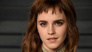 Emma Watson en una de las fiestas posteriores a los Oscar..