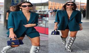 El vestido-americana es la prenda de la temporada  palabra de Emily  Ratajkowski 307a73b50ce