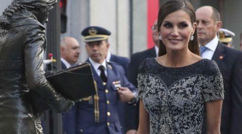 La reina Letizia en los Premios Princesa de Asturias 2018.