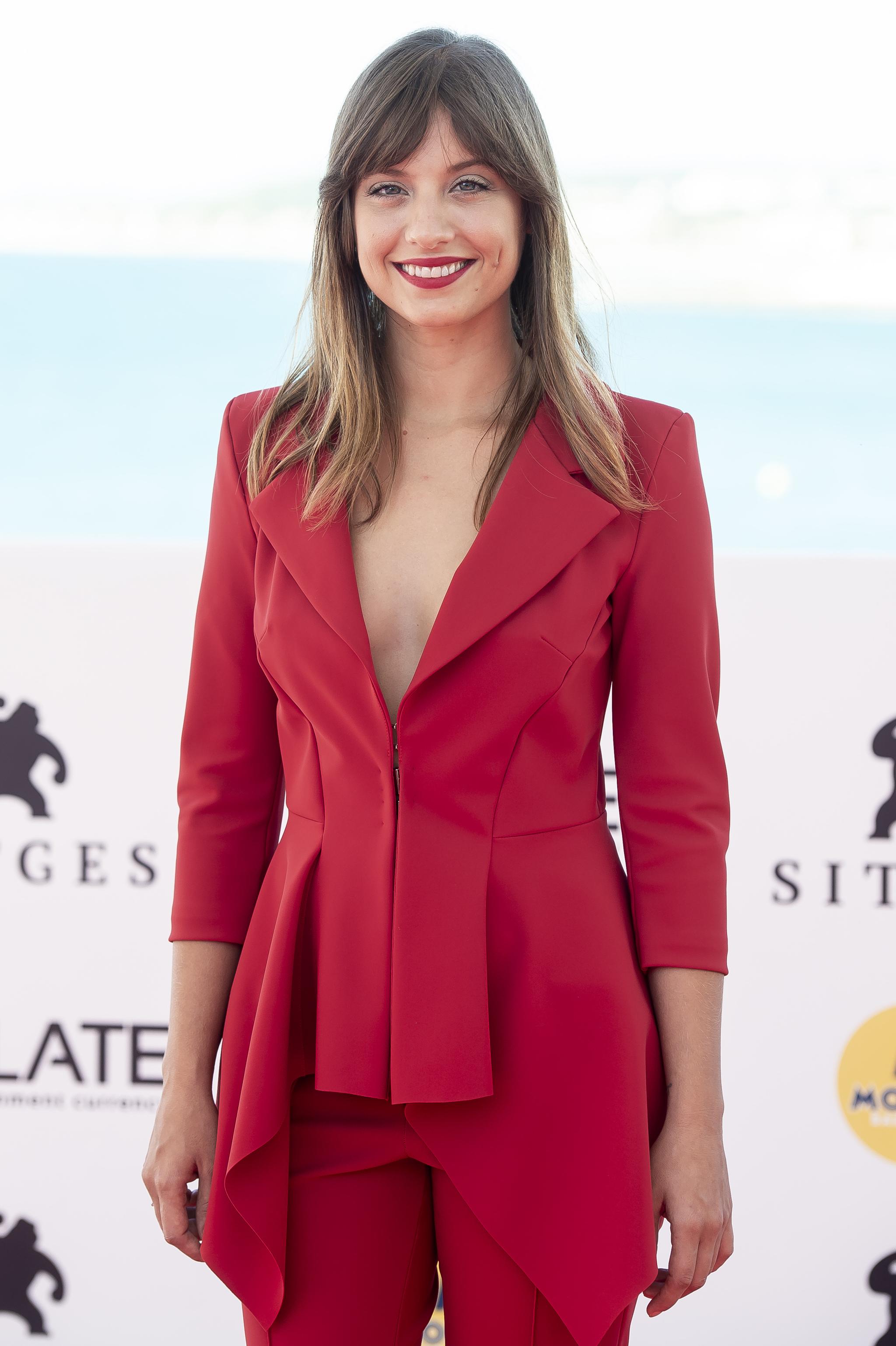 Michelle Jenner durante el Festival de cine de Sitges.