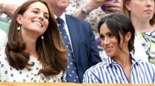 Meghan Markle y Kate Middleton, las Duquesas de Cambridge y de Sussex.