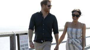 Mega y Harry paseando por la isla de Fraser.
