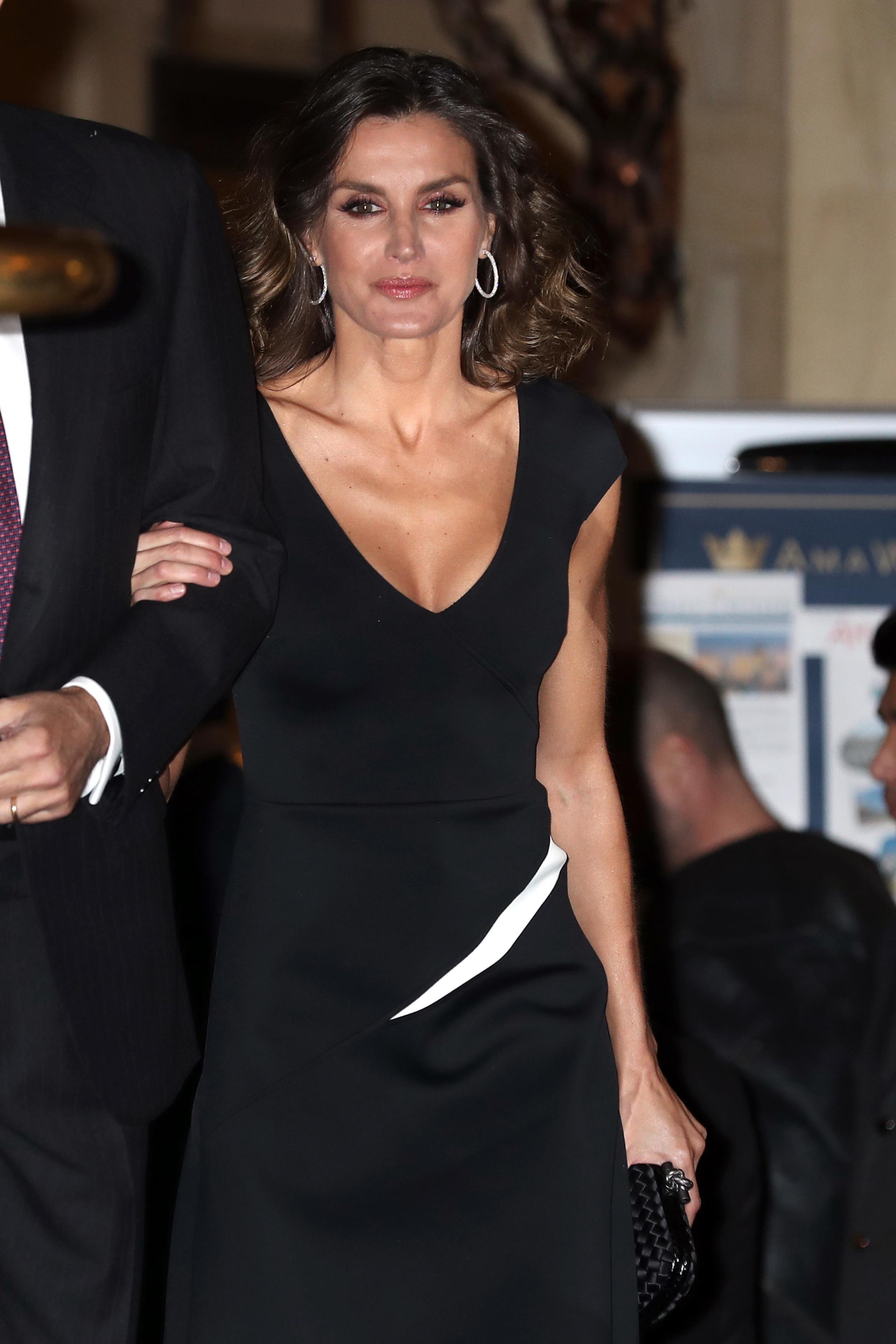 Doña Letizia y Felipe VI en la gala de entrega del Premio de...