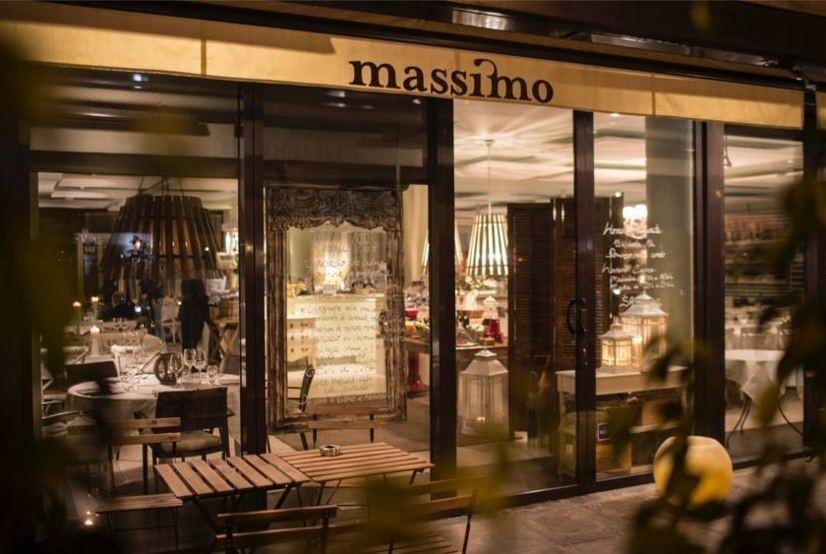Massimo es ideal para una cena en pareja.