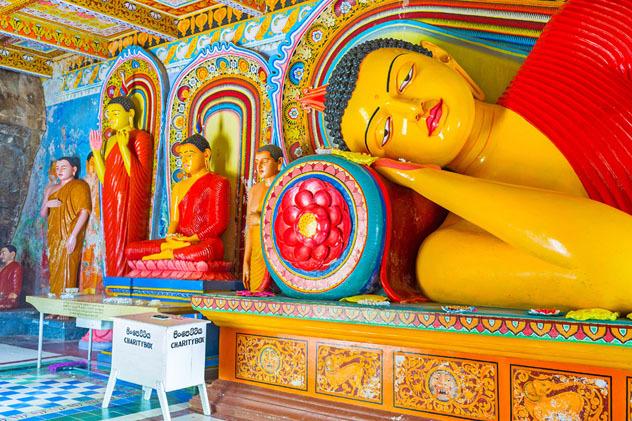 Templo de Ski Lanka