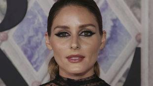 Olivia Palermo, con maquillaje.