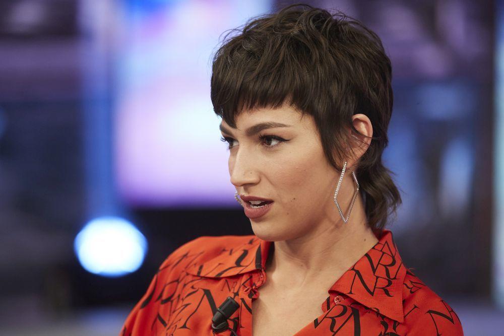 La actriz Úrsula Corberó con su nuevo corte de pelo mullet en El...