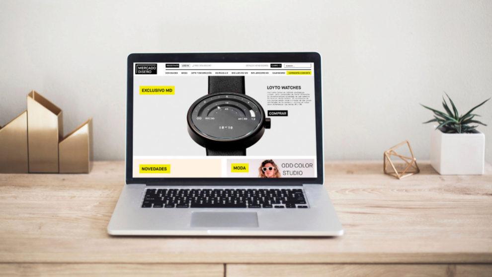 El Mercado de Diseño llega a nuestros ordenadores y lanza su tienda...
