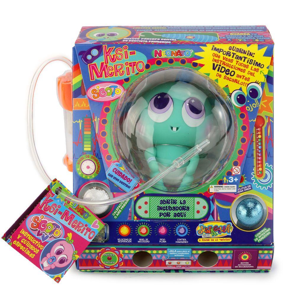 Uno de los muñecos neonatos de Distroller.