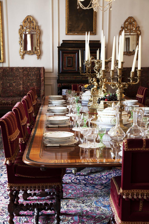 En el comedor de Knebworth House tiene lugar una de las escenas más...