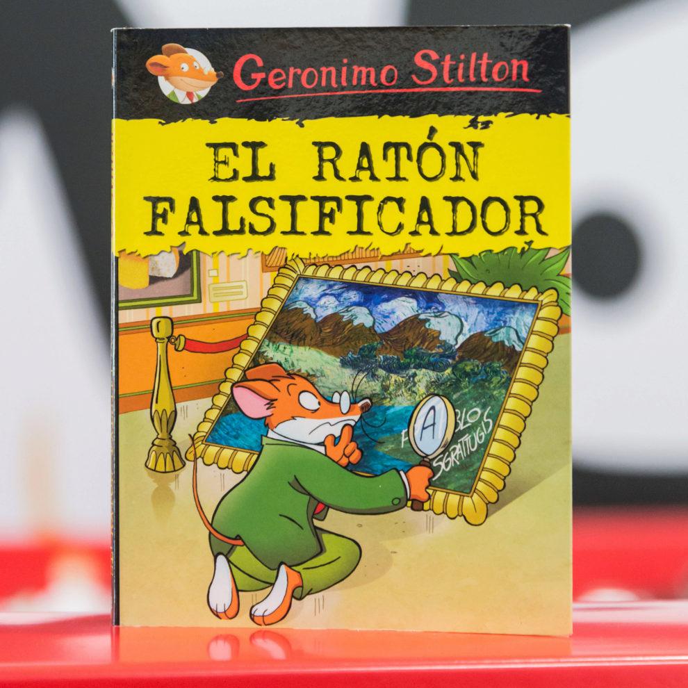"""""""El Ratón Falsificador"""", protagonizado por Geronimo Stilton y..."""