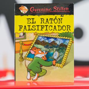 """""""El Ratón Falsificador"""", protagonizado por Geronimo Stilton..."""