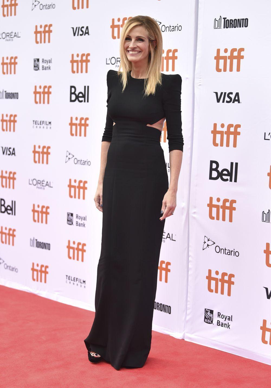 "En la "" red carpet"" Julia Roberts siempre luce tipazo."